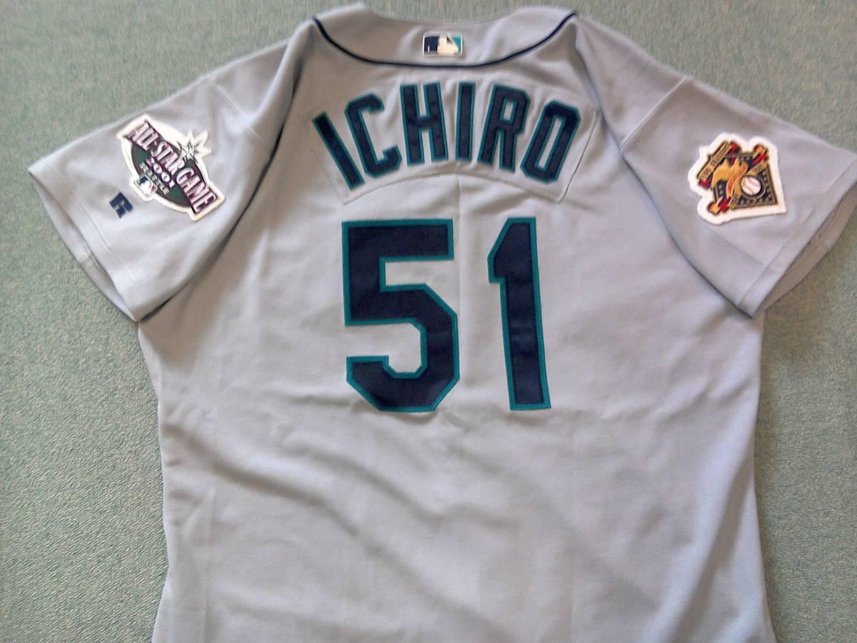 イチロー☆ichiro☆2001年ビジターユニフォーム☆2001年オールスターゲーム