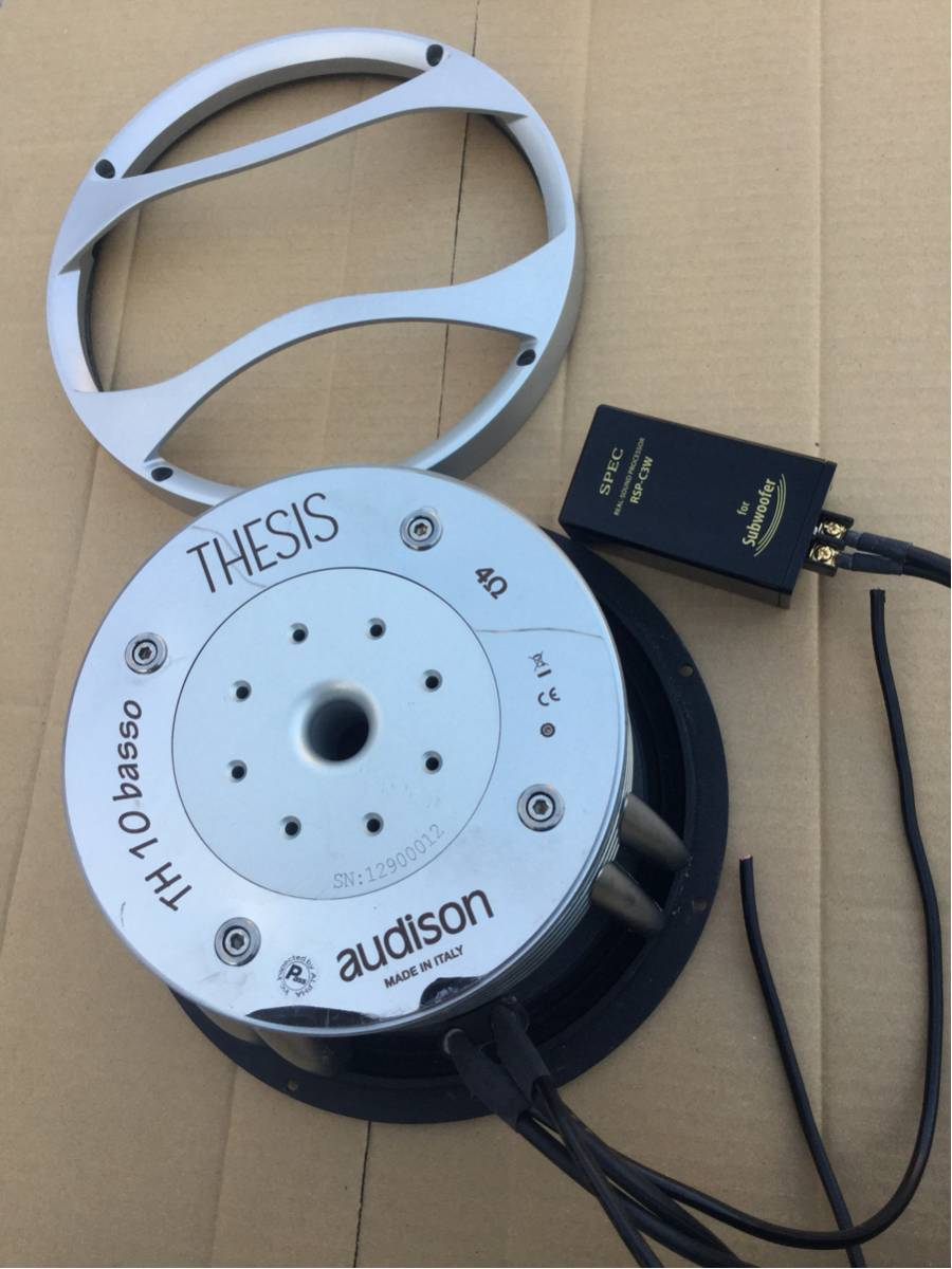 audison thesis th 10 basso Audison th 10 basso  hi end audison thesis quattro 2x and uno used in perfect contition   download the gumtree app for ios or android.