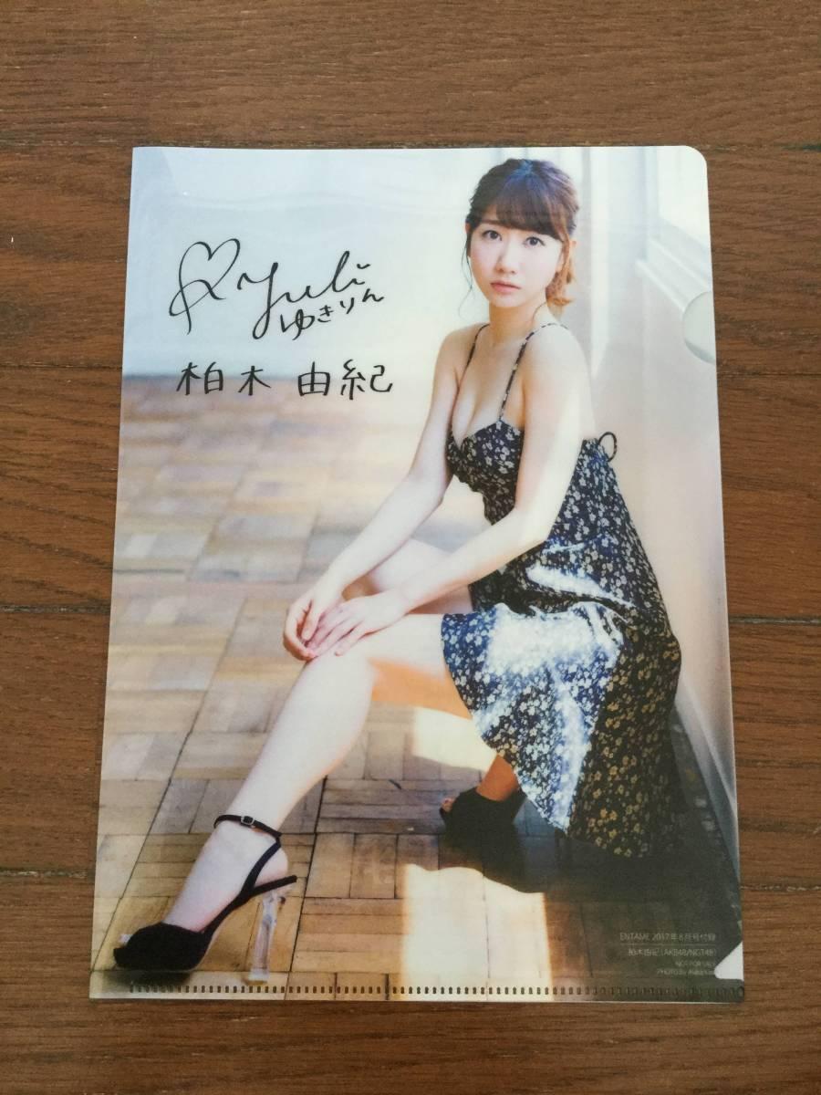 AKB48 柏木由紀 B5 ファイル