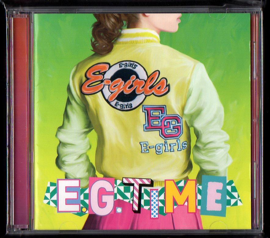 E-girls E.G. TIME 通常盤 CD+Blu-ray RZCD-59767/B