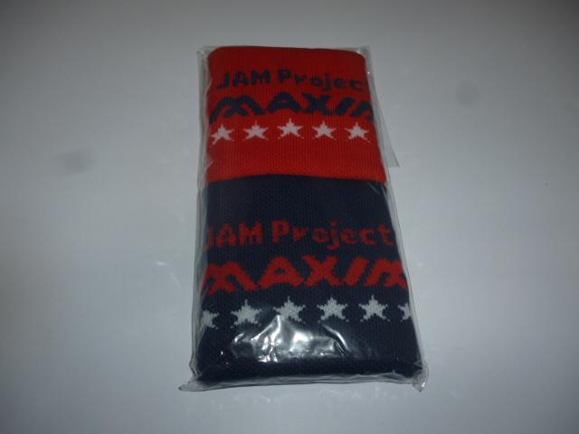 JAM Project LIVE 2010/未開封/未使用/新品/ライヴグッズ リストバンド