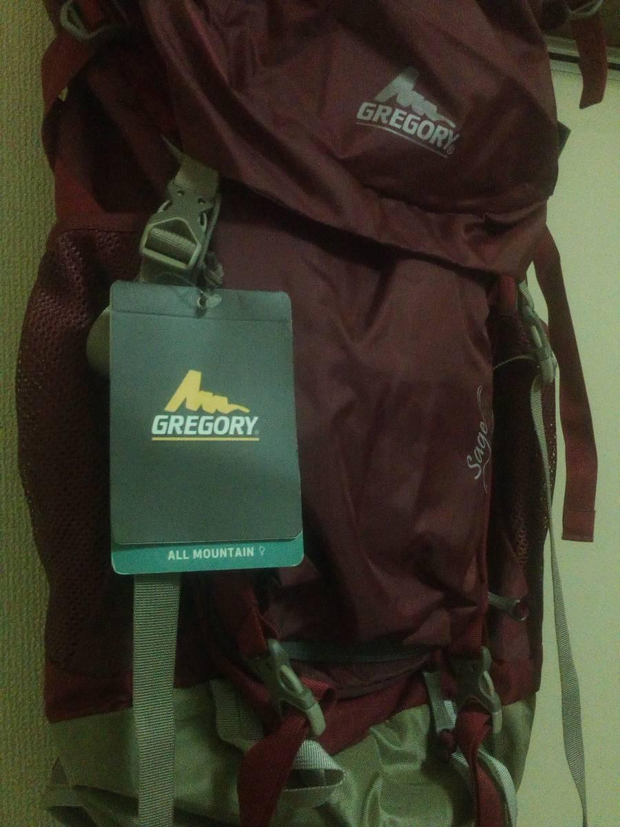 GREGORY グレゴリー SAGE 45 ROSE WOOD RED バックパック 登山 カバン