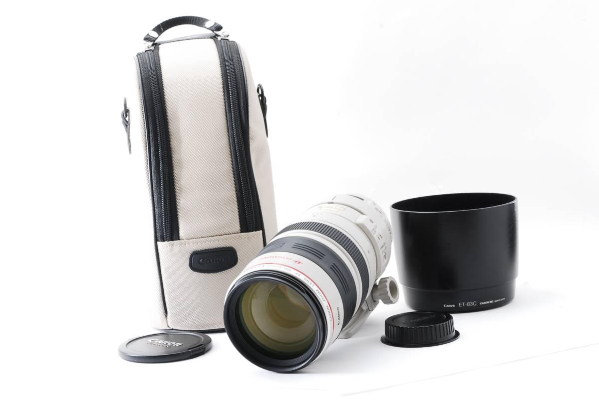 ★超極上級★Canon キヤノン EF 100-400mm F4.5-5.6L IS USM★外観&光学ともに使用感少なめのキレイな一品です!!