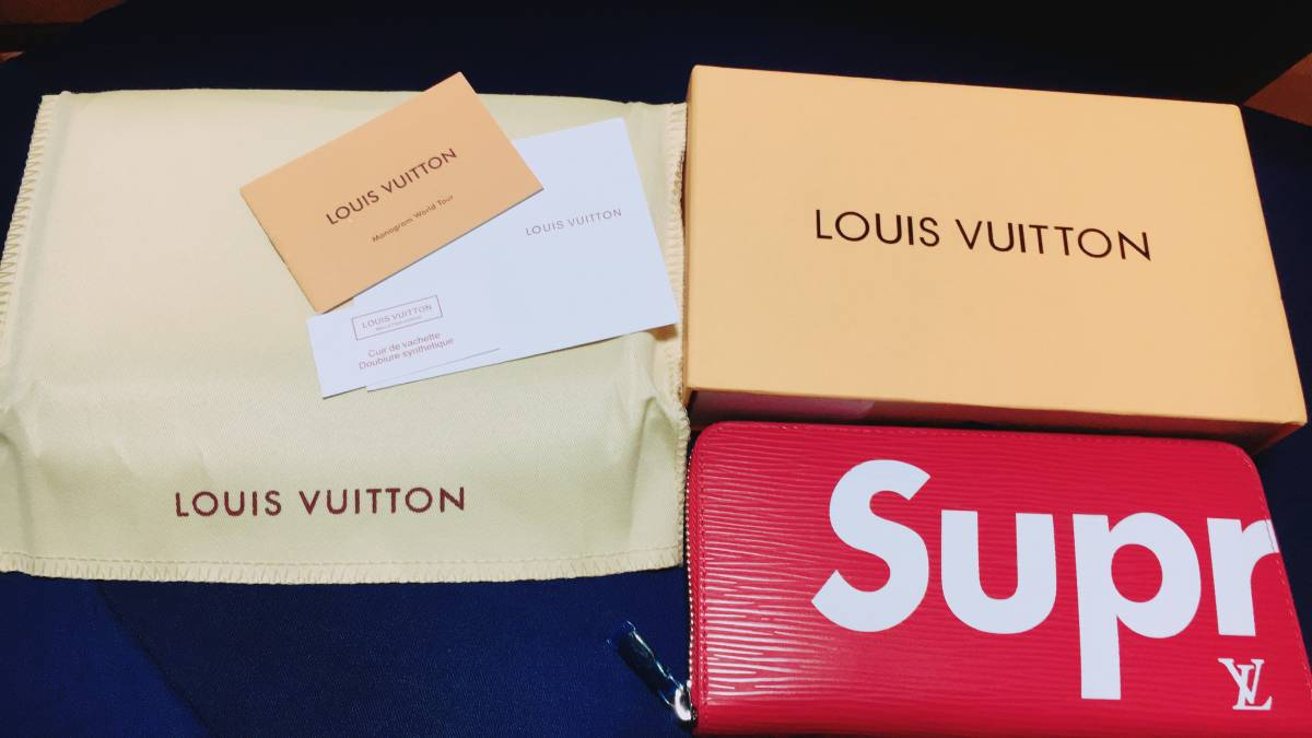 Supreme×Louis vuitton長財布