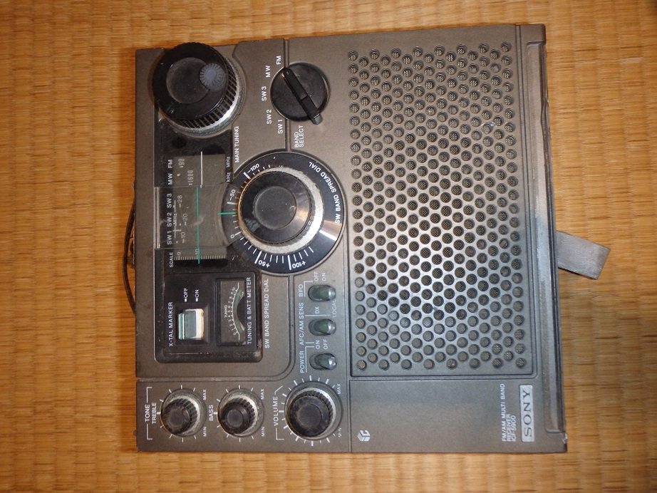 SONY ソニー ICF-5900 スカイセンサー ジャンク