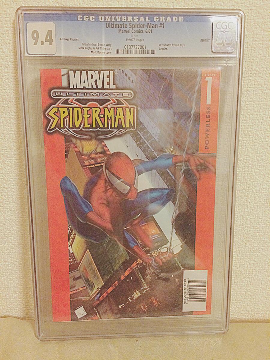 CGC 認定点数付き 9.4 アメコミ スパイダーマン marvel コレクターズ グッズの画像