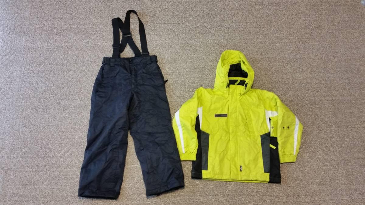 スキーウェア、ブーツセット ウェア130センチ(調整紐付き) ブーツ20センチ 中古_画像3