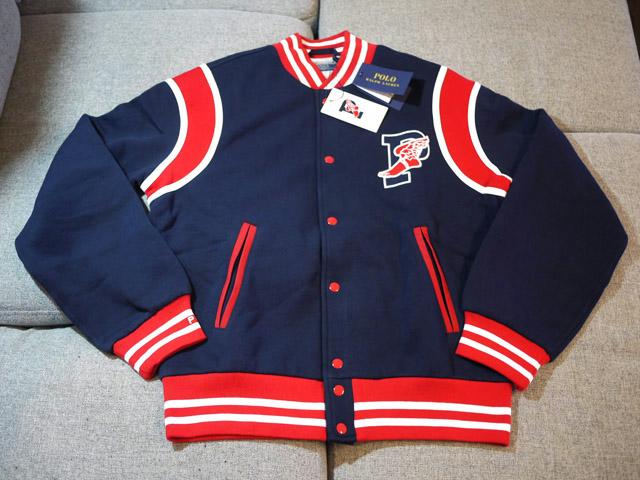 Ralph Lauren Polo Stadium Collection 1992 スタジャン ブルゾン Sサイズ ラルフローレン ポロ スタジアム コレクション P-Wing_画像1