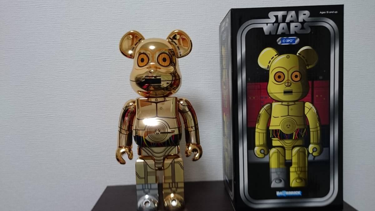激レア!!美品 ベアブリック スターウォーズ C-3PO 400% グッズの画像