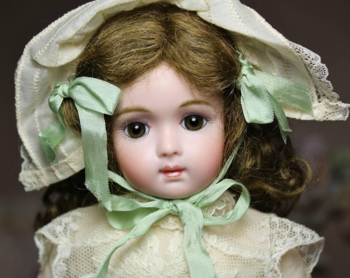 秀作!ジュモー・トリステ リプロ ミレット 作家様1 点物/SD フランス人形 ビスク アート