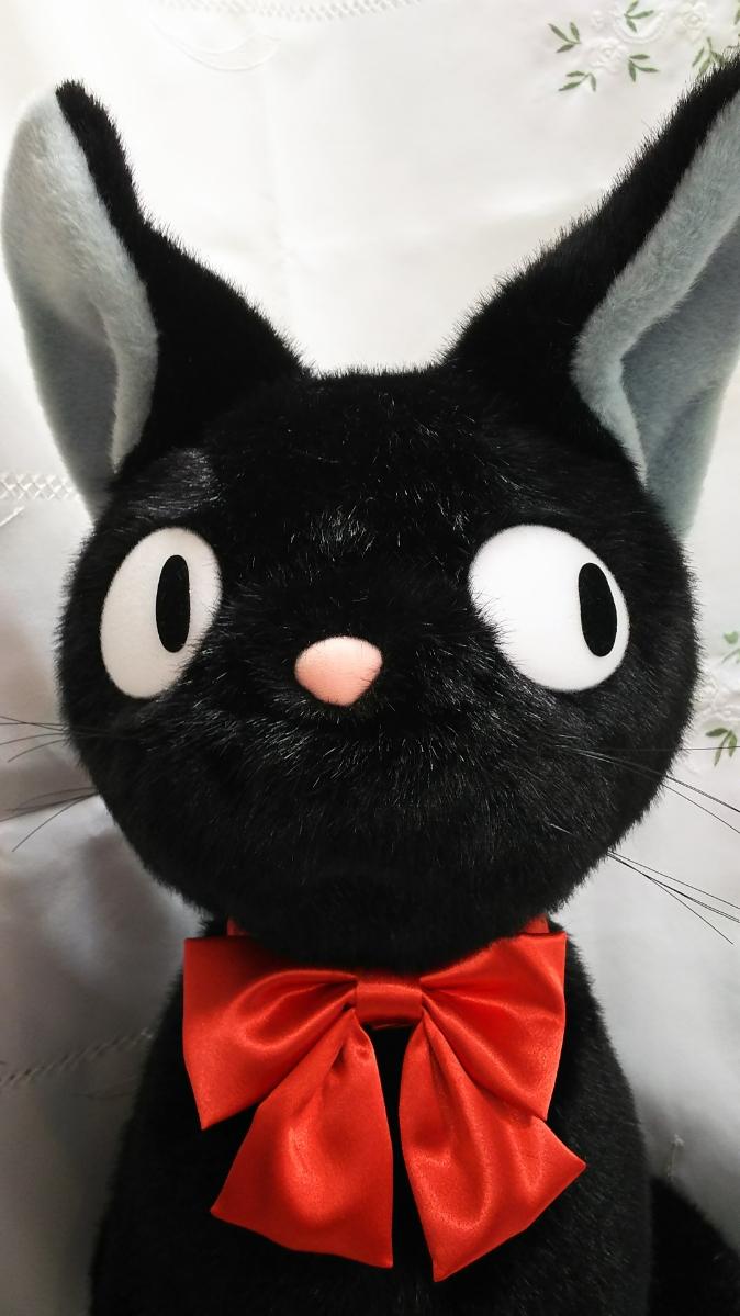 魔女の宅急便 巨大黒猫 ぬいぐるみ/保管品/美品/70CM_画像2