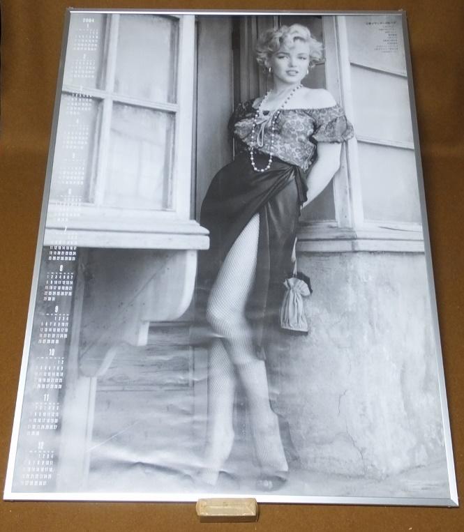№1【マリリンモンロー 2004年カレンダー 三和シャッター】額装 グッズの画像