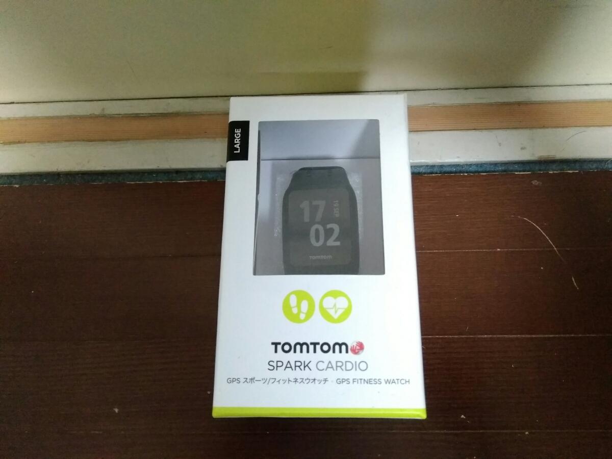 Tomtom Spark cardio ランニング GPSウォッチ 光学式心拍数計 メーカー保証H30年5月まで 活動量計 トレラン (検索 Garmin 235