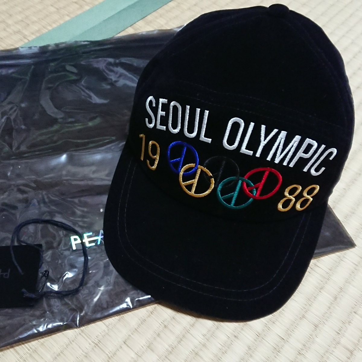 PEACEMINUSONE 即完売確実正規品 ソウルオリンピックキャップ