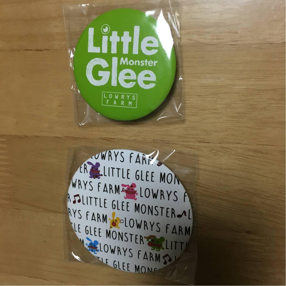 リトルグリーモンスターLittle Glee Monster 缶バッチ2点 ライブグッズの画像