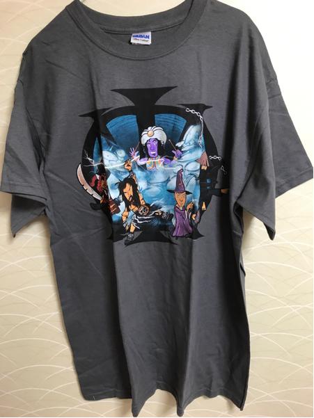 ♪ドリーム・シアター「Tシャツ/2012年A Dramatic Tour of Events Japan/グレー/Lサイズ」新品未着用♪来日ツアー・グッズ♪DREAM THEATER