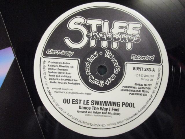 Ou Est Le Swimming Pool : Dance The Way I Feel Remix 12'' // Armand Van Helden Club Mix / 5点で送料無料_画像3
