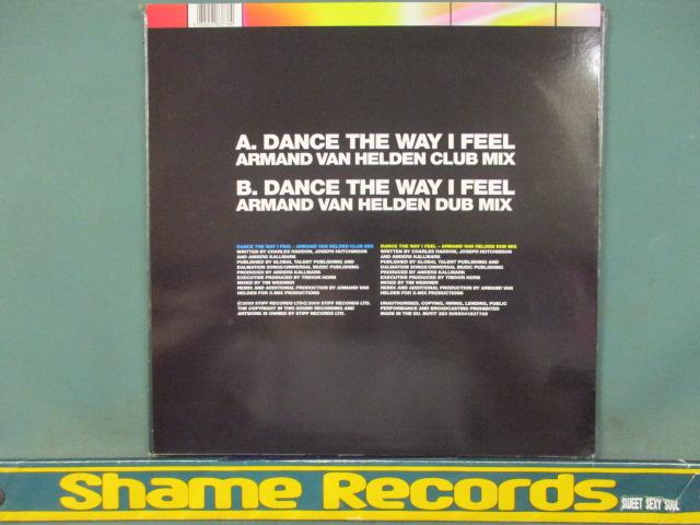 Ou Est Le Swimming Pool : Dance The Way I Feel Remix 12'' // Armand Van Helden Club Mix / 5点で送料無料_画像2