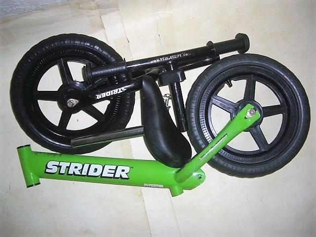 ★ STRIDER バランスバイク ストライダー 足けり自転車(ペダルレス) 中古品 ★_画像3