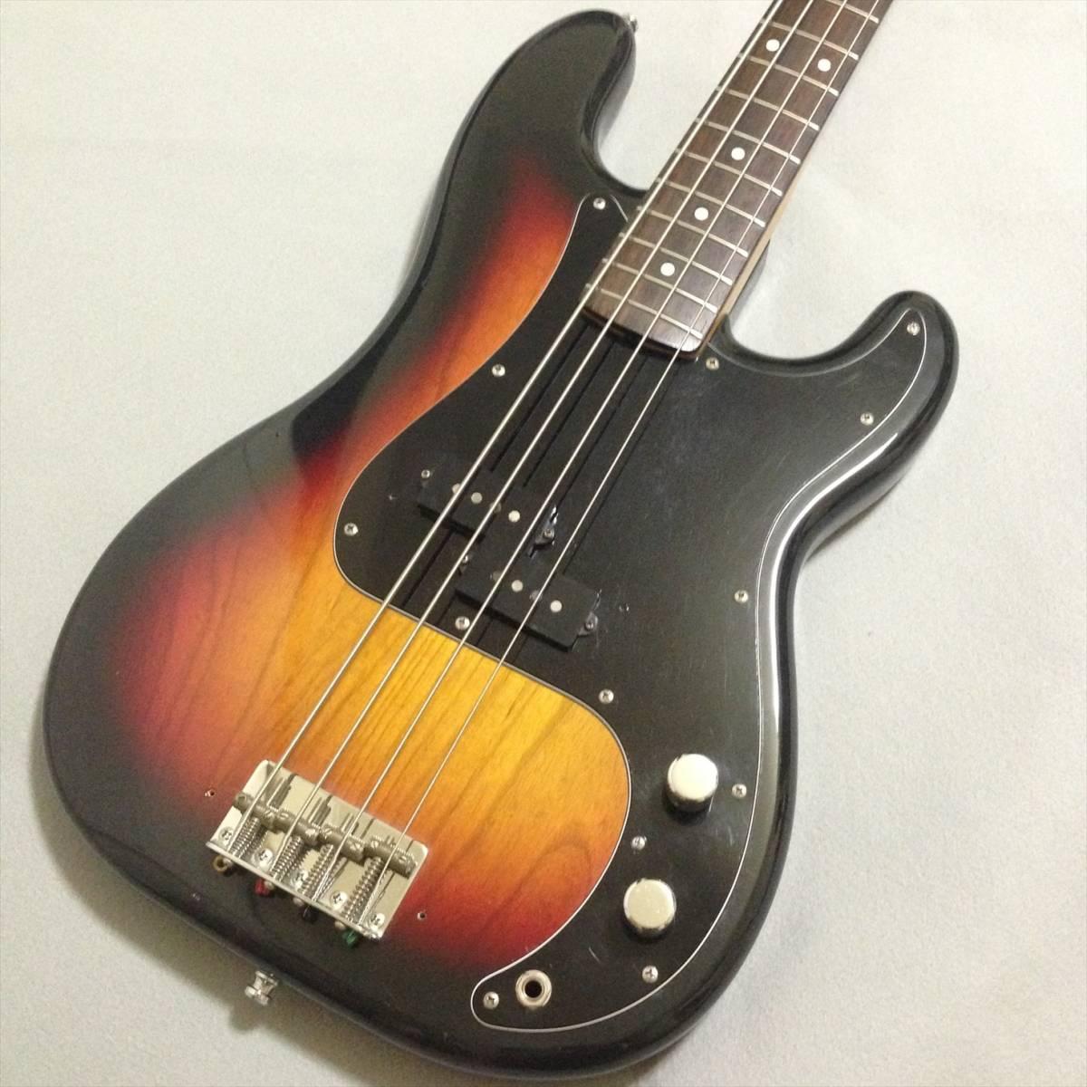 レア アッシュ ボディ Fender Japan PB70 3TS フェンダー ジャパン 3トーンサンバースト プレシジョンベース PB-70 ash Precision Bass_画像3