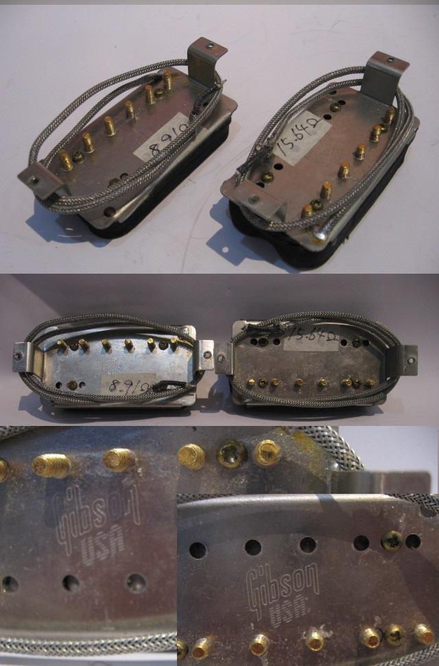 管理番号GBP-01 ◆即決◆ GIBSON ギブソン エレキギター用ピックアップ 2個セット _画像3