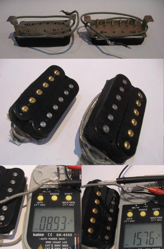 管理番号GBP-01 ◆即決◆ GIBSON ギブソン エレキギター用ピックアップ 2個セット _画像2