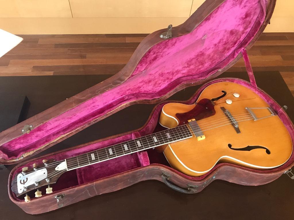 エピフォン 1950年代 ビンテージフルアコギター Epiphone Zephyr Regent