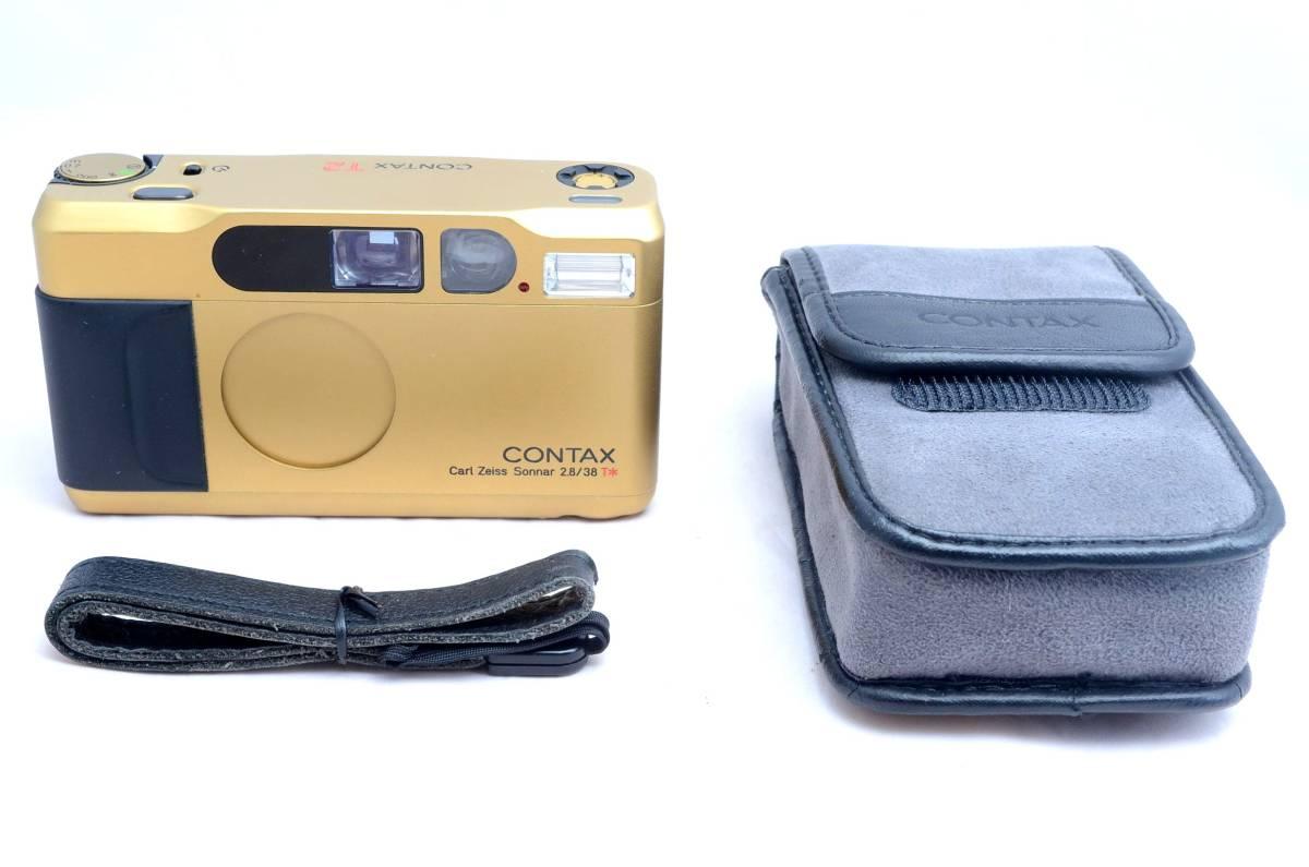 ★新品同様極上美品★コンタックス CONTAX T2 チタンゴールド データバック付き 完全動作品 保証_画像3