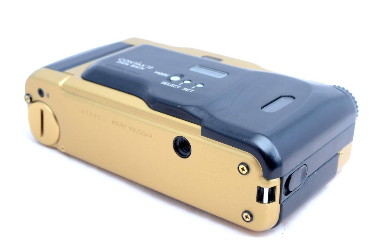 ★新品同様極上美品★コンタックス CONTAX T2 チタンゴールド データバック付き 完全動作品 保証_画像2