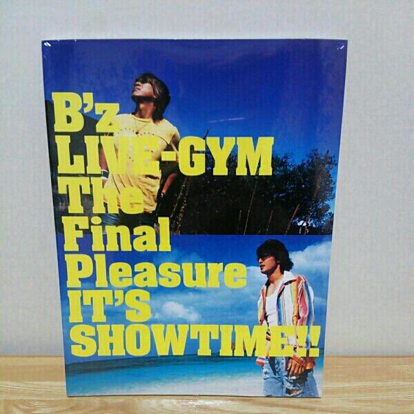 B'z LIVEーGYM The Final Pleasure ツアーパンフ 未開封新品