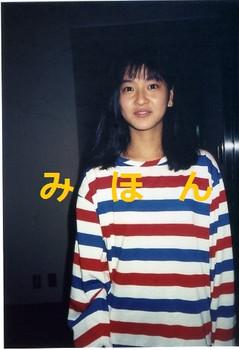 ★☆ (Y35) 森高千里 オーバーヒート・ナイト 生写真 1枚 ☆★