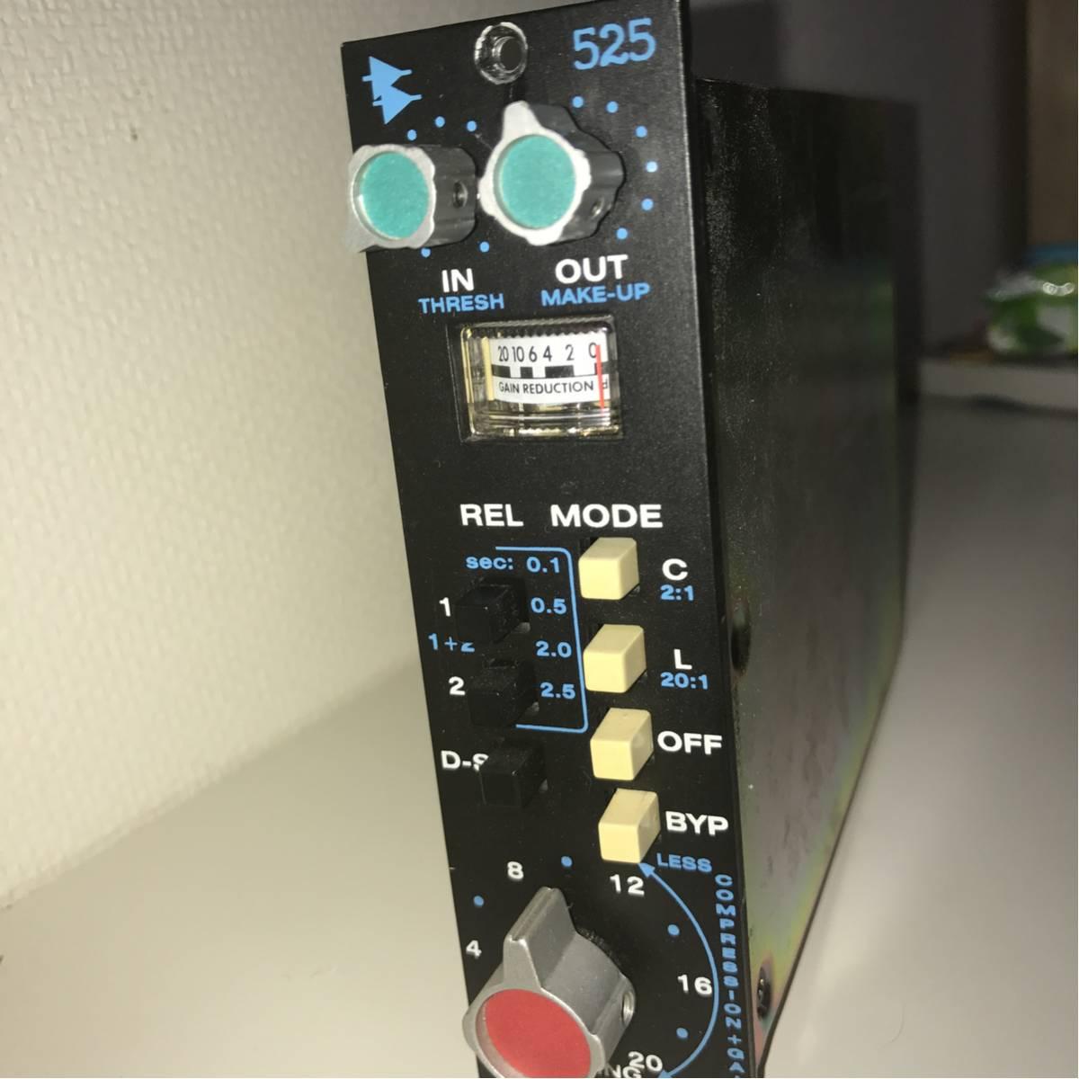 良好品 API 525 コンプレッサー・リミッター 多数出品中 / AMS NEVE Manley SSL Pultec Purple Audio Universal API BAE Amek