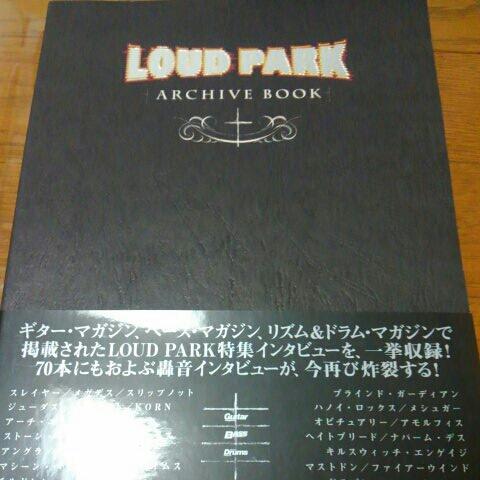 LOUD PARK ARCHIVE BOOK ギターマガジン ベースマガジン ドラムマガジン ラウドパーク SLAYER Children of Bodom DRAGONFORCE MEGADETH
