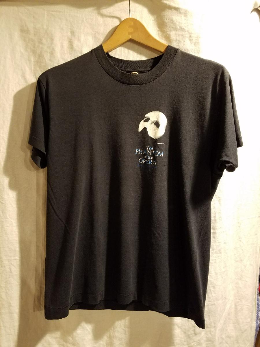 ビンテージ The PHANTOM of the OPERA Tシャツ 80s スクリーンスター オペラ座の怪人