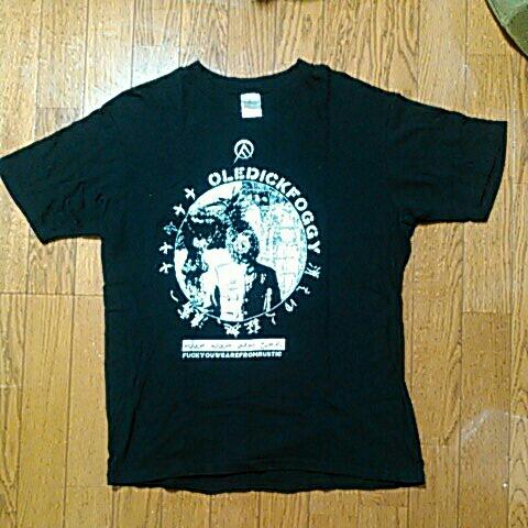 美品 OLEDICKFOGGY 初期 Tシャツ OLEDICK FOGGY オールディックフォギー GAUZE LIPCREAM LIP CREAM STLTH T字路s