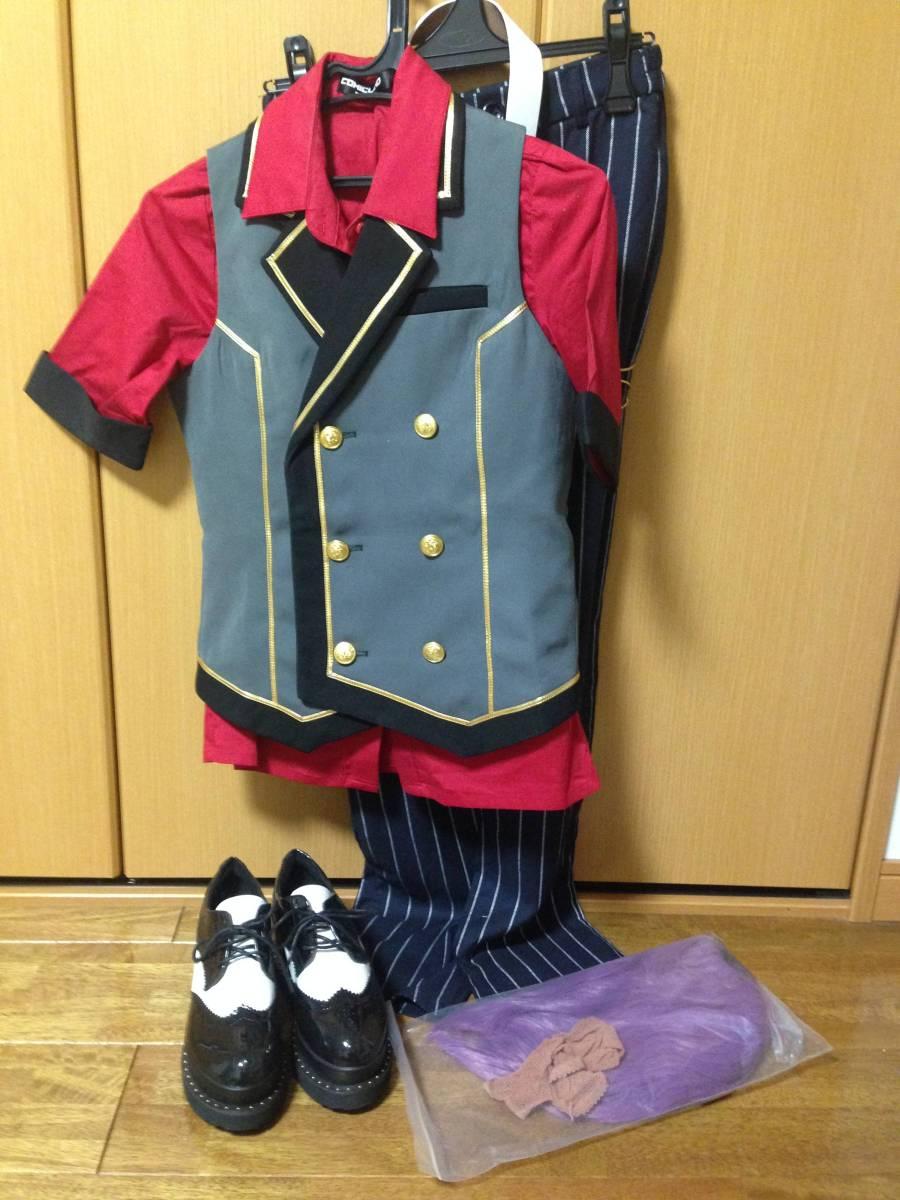 コスプレ衣装 あんさんぶるスターズ 乙狩アドニス 宵の宴 バンドアンサンブル グッズの画像