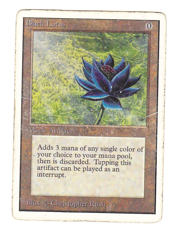 ●即決● UN Black Lotus(英語) その2_画像1