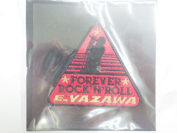 新品未使用 刺繍ワッペンシール シルエット トライアングル 矢沢永吉 E.YAZAWA EIKICHI / WA-9164