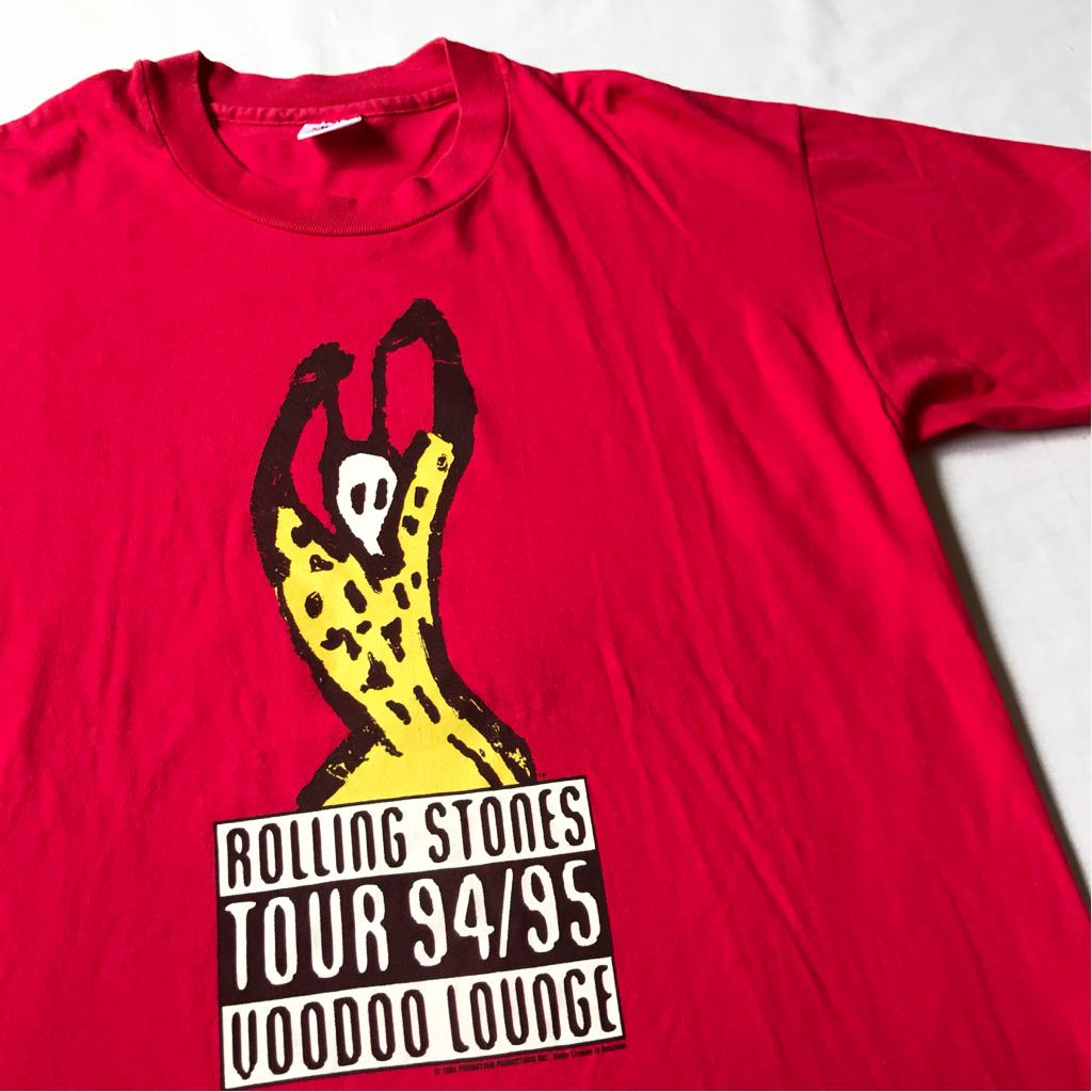 94年 ROLLING STNES Tシャツ ビンテージ anvil L USA製 90s 90年代 ローリングストーンズ アメリカ製 オリジナル ロック バンド