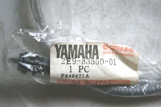 F.新品70sヤマハパッソーラSA50純正ワイヤーパッソルS50パッソルⅡチャピィジッピィGR50RD50ボビィミニトレGT50MR50TY50マリックリリック_画像2