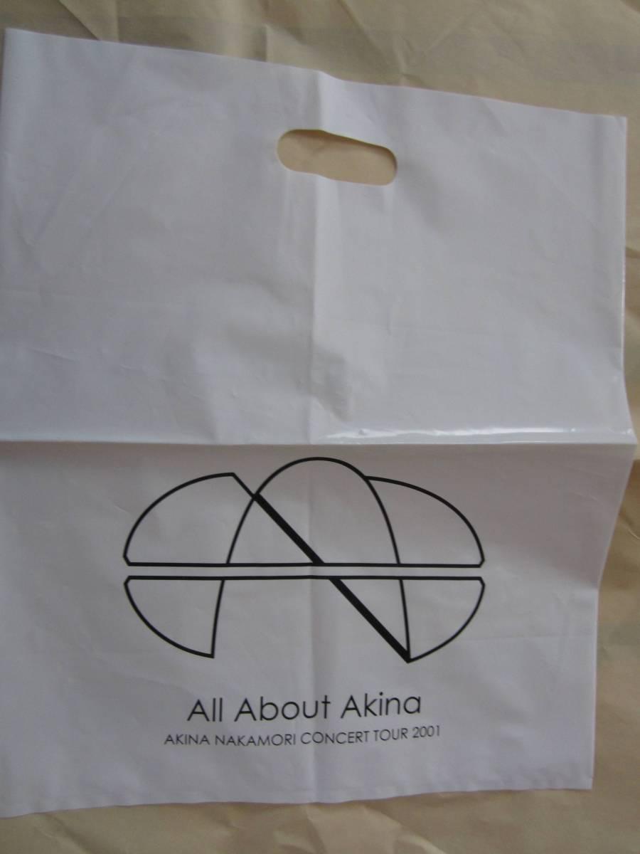 中森明菜 ビニールバッグ「All About Akina」