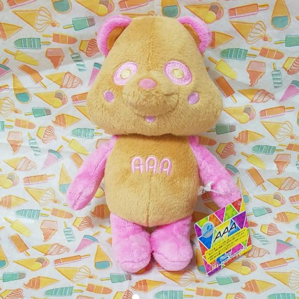 タグ付き AAA えーパンダ 日焼け ピンク