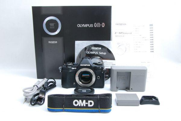 ☆極上美品☆ OLYMPUS オリンパス OM-D E-M5 mark Ⅱ ボディ 付属品一式 元箱付 使用感極少☆_画像1