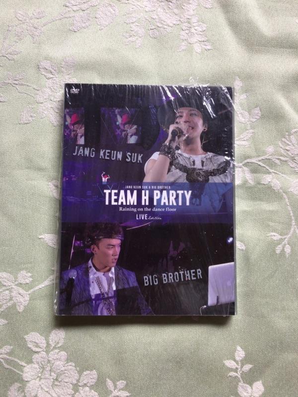 チャングンソク TEAM H PARTY TOUR DVD -LIVE EDITION
