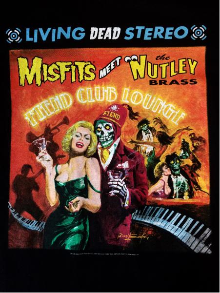 希少 90sヴィンテージ USA製 MISFITS meet NUTLEY Tシャツ バンド 当時物 モスキートヘッド 映画 supreme vampirella マリリンモンロー