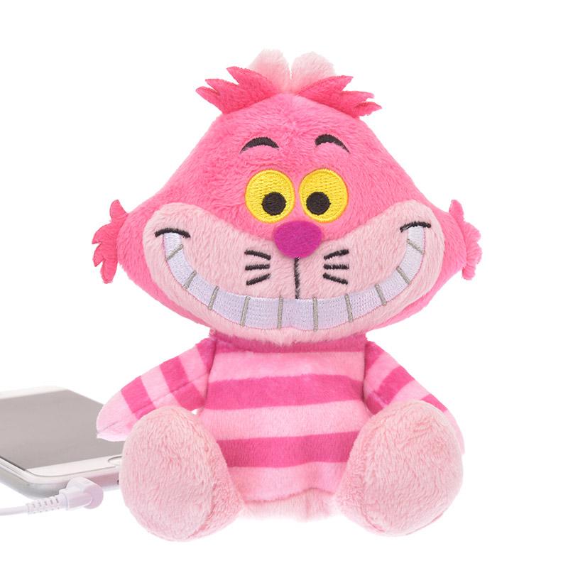 スピーカー ぬいぐるみ型 チェシャ猫  定価以下 ディズニー 不思議の国のアリス ディズニーグッズの画像