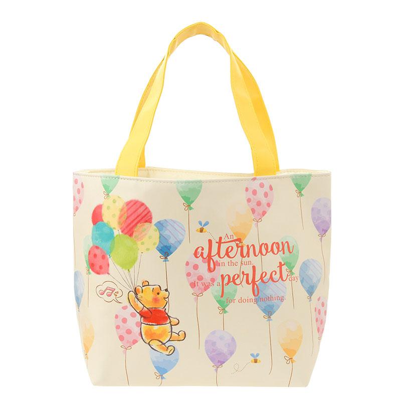 トートバッグ プーさん&ピグレット こでかけ Pooh Hunny Day 定価以下 品切れ ディズニーグッズの画像