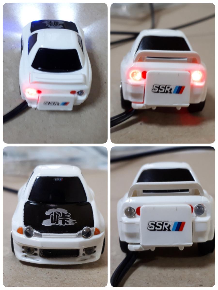 ダミースキャナー チョロQ スカイライン R32 GT-R 峠 走り屋 LED 新品_画像2