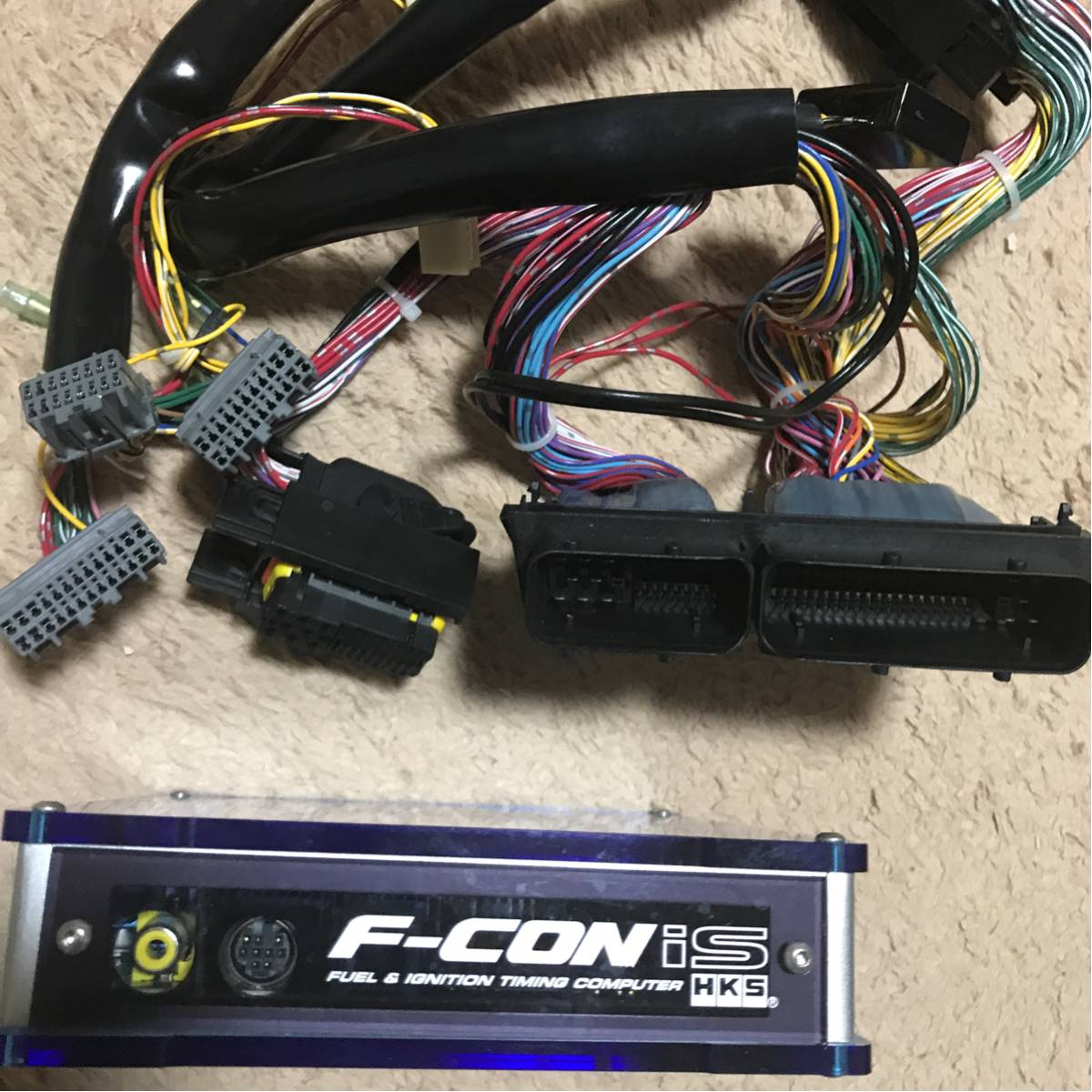 買ったもん勝ち!z33 HKS F-CON is 本体、専用ハーネスセット!オプション圧力センサー付き!フェアレディZ_画像2