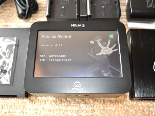 送料無料! ほぼ新品 ATOMOS NINJA2 モニター レコーダー 付属品完備 アトモス